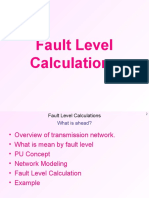Fault Level Calculations