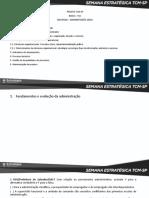 Administração Geral - TCMSP
