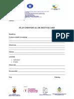 Plan individual de dezvoltare