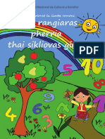 Copii Carte de Colorat Coloram Fructe Cifre Invatam