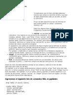 Tutorial de PostgreSQL - Tipos de datos básicos
