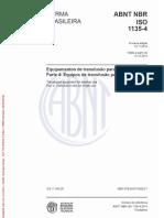 Norma ABNT NBR ISO 1135-4
