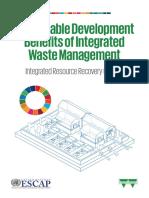 Sustainable Development Benefits of Waste Management