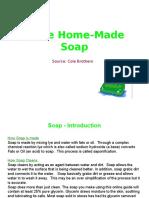 Make Home Made Soap