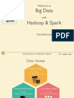 Introduction to Hadoop & Spark