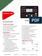 InteliGen 200 datasheet