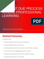 student due process training