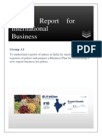 International Business - Pulses Export BPLAN.pdf
