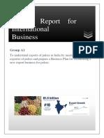 International Business - Pulses Export BPLAN.pdf