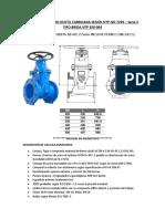 VALVULA DE HIERRO DUCTIL FABRICADA SEGÚN NTP ISO 7259.docx