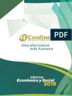 Informe de gestión 2019 - COOFINEP Cooperativa Financiera