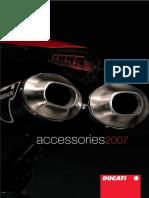 Catálogo Accesorios Ducati Performance 2007