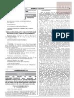 R. Leg. N° 001-2020-2021-CR