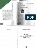 Schaeffer, _Prefacio_ en El fin de la excepcion humana.pdf