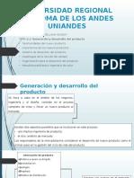 Generación y desarrollo del producto