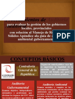 EXPOSICION DE EJEMPLOS DE AUDITORIA AMBIENTAL