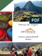 Manual Adventure Peru Brasil