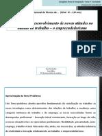 O desenvolvimento de novas atitudes no mundo do trabalho – o empreendedorismo.pptx
