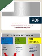11° LA SALUD OCUPACIONAL EN EL AMBITO LABORAL