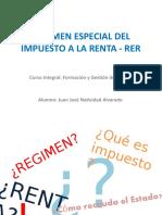 RÉGIMEN ESPECIAL DEL IMPUESTO A LA RENTA -.pptx