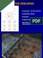 Diseño de Estructuras de Cimentacion 3-Zapatas aisladas