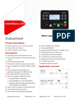 InteliMains 210 Datasheet