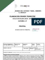 PLANEACION SEGUNDO TRIMESTRE 1 NVO MODELO CONECTA