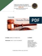Taller La Prueba en el Derecho Positivo Venezolano