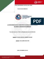 CONDICIONES LABORALES EN FUSIONES DE EMPRESAS