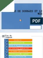 Base de donnée et le webF