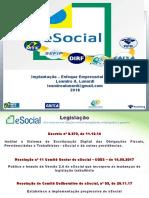 Apresentação eSocial Empresários.ppt