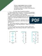 POTENTIAL DISTRIBUTION OVER SUSPENSION INSULATOR S.pdf