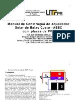 Manual de construção do ASBC-Proex