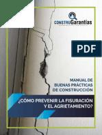 Manual de buenas prácticas - Cómo prevenir la fisuración y el agrietamiento