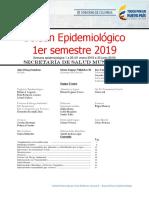 Boletin Epidemiologico 1er semestre 2019