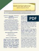 Boletín Jurisprudencial N° 04 del 17 de marzo de 2020