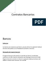 Contratos bancarios.