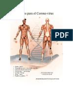 Pares Biomagneticos para Corona Virus