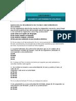 Ejercicios del Movimiento (Resueltos pal informe)