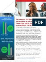 Get stronger SQL Server performance for less with Dell EMC PowerEdge R6515 clusters powered by AMD EPYC 7502P processors