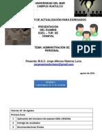 CURSO CENEVAL ADMON DE PERS 2018 SESION 5
