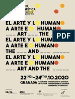 VII Congreso estética El arte y lo humano (Granada, 22-24oct, Deadline 31may 500w)