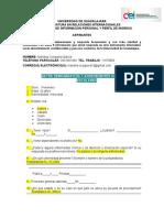 CUESTIONARIO DE INFORMACION PERSONAL Y PERFIL DE INGRESO GENERAL.doc