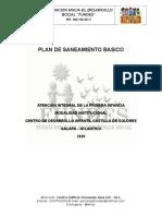 PLAN DE SANEAMIENTO BASICO CDI CASTILLO DE COLORES.doc