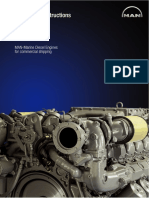 MAN Marine Diesel Engines for Commercial Shipping - Installation Instructions