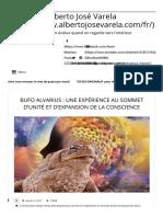 BUFO ALVARIUS _ UNE EXPÉRIENCE AU SOMMET D'UNITÉ ET D'EXPANSION DE LA CONSCIENCE - Alberto José Varela.pdf