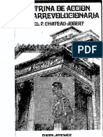 Doctrina de Acción Contrarrevolucionaria - Pierre Chateau-Jobert