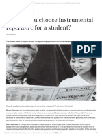 How do you choose instrumental repertoire for a student_ _ Focus _ The Strad