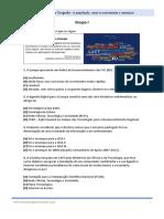 Geografia - Exercícios de Preparação Para o Exame Nacional