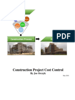 Construction Project Cost Control